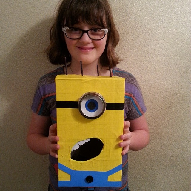 Minion Out of a Box